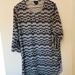 Mossimo Tunic dress Medium size,Gray color